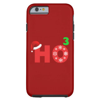 santa laughs at christmas tough iPhone 6 case