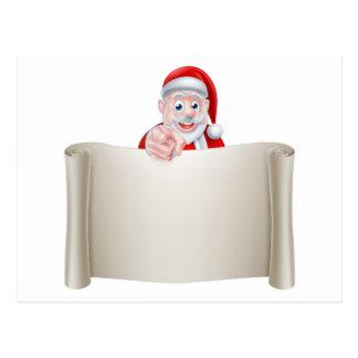 Santa le necesita postal