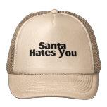 Santa le odia gorro de camionero