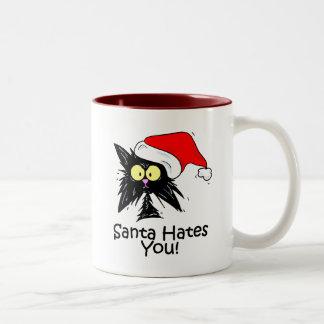Santa le odia taza