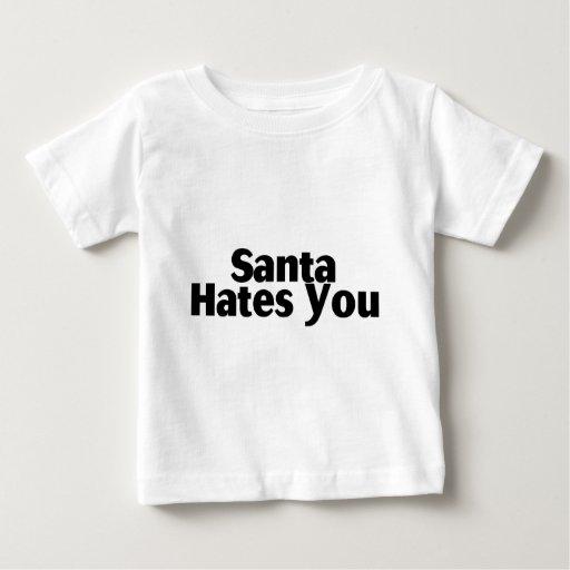 Santa le odia tshirt
