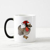 Santa Lesser Prairie-Chicken Magic Mug