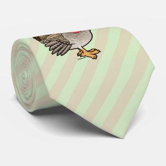 Santa Lesser Prairie-Chicken Neck Tie