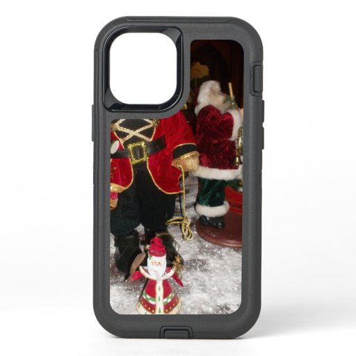 Santa Let It Snow Beautiful Christmas Winter OtterBox Defender iPhone 12 Case