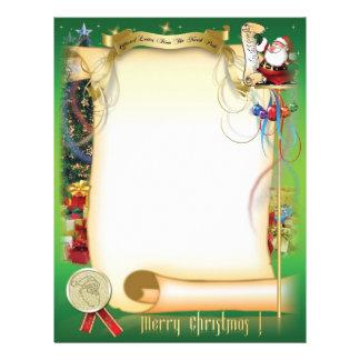 Santa Letter Letterhead