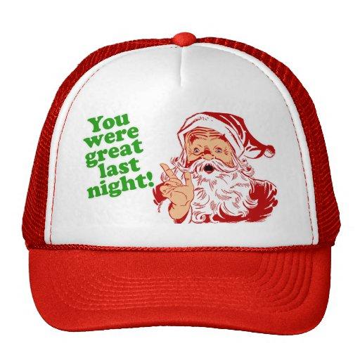 Santa Liked It Trucker Hat