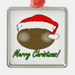 Santa lindo Smiely Adorno De Reyes