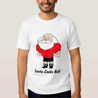Santa Looks Buff T-shirt