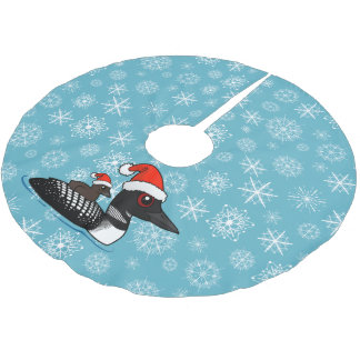 Santa Loon Brushed Polyester Tree Skirt