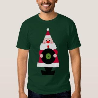Santa Loves Vinyl Tee