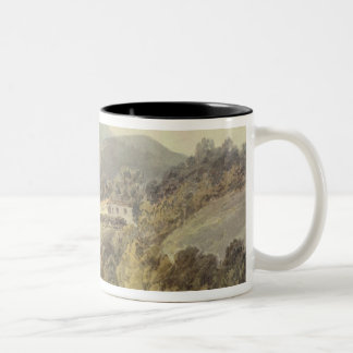 Santa Lucia, A Convent near Caserta, c.1795 (w/c o Two-Tone Coffee Mug