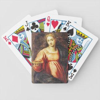 Santa Lucía (de Suecia y de Italia) Baraja Cartas De Poker