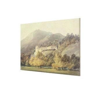 Santa Lucía, un convento cerca de Caserta, c.1795  Impresion En Lona
