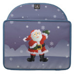 Santa MacBook Pro Sleeves