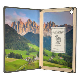 Santa Maddelena and The Dolomites in Val di Funes iPad Air Covers