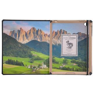 Santa Maddelena and The Dolomites in Val di Funes iPad Folio Case