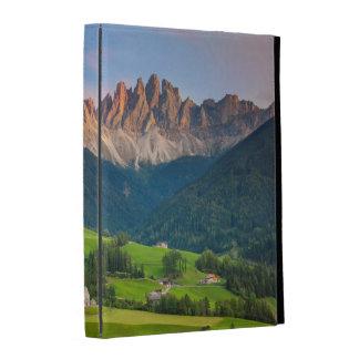 Santa Maddelena and The Dolomites in Val di Funes iPad Cases