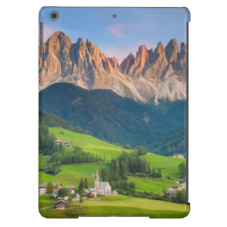 Santa Maddelena and The Dolomites in Val di Funes iPad Air Cases