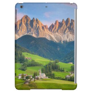 Santa Maddelena and The Dolomites in Val di Funes iPad Air Cover