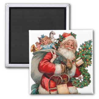 Santa Magnet for the Holidays