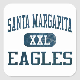 Santa Margarita Eagles Athletics Square Sticker