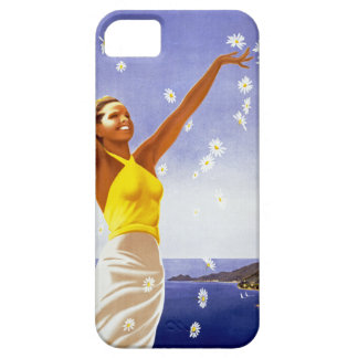 Santa Margherita Ligure con las margaritas Funda Para iPhone SE/5/5s