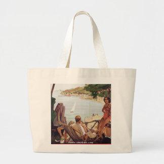 Santa Margherita Ligure Large Tote Bag
