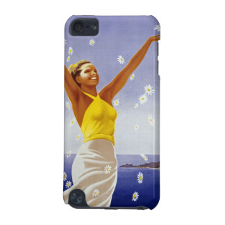Santa Margherita Ligure with Daisies iPod Touch (5th Generation) Case