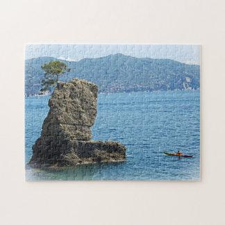 Santa Marhetrita Ligure, Italy - Kayaker Puzzle