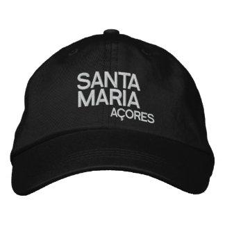 Santa Maria* Azores Adjustable Hat Embroidered Hats