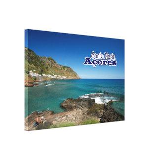 Santa Maria - Azores Canvas Print