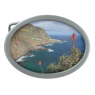 Santa María Azores costeras Hebillas De Cinturón Ovales