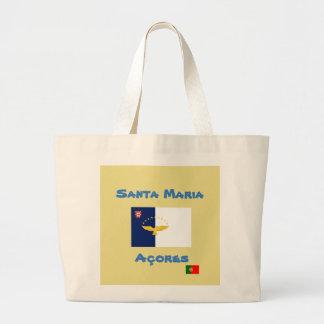 Santa Maria Azores Custom Tote Bag