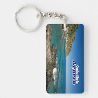 Santa Maria - Azores Keychain