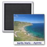 Santa Maria - Azores magnet