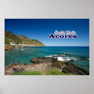 Santa Maria - Azores Poster