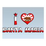 Santa Maria, CA Postcards