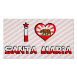 Santa Maria, CA Poster