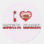 Santa Maria, CA Sticker