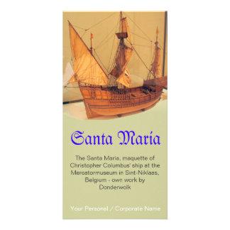Santa Maria Card
