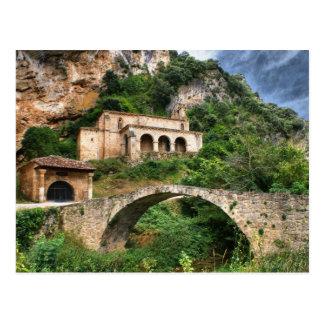 Santa Maria de la Hoz in Tobera, Frias Postcard