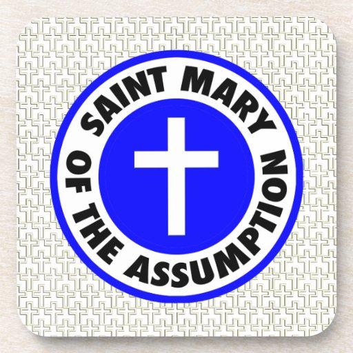 Santa María de la suposición Posavasos