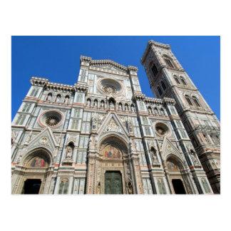 Santa Maria del Fiore and Campanille Postcard