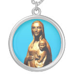 Santa María del Lauro Necklace Colgante Redondo