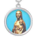 Santa María del Lauro Necklace Collar Plateado