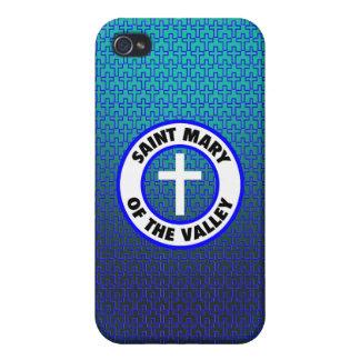 Santa María del valle iPhone 4 Carcasa