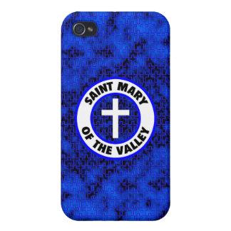 Santa María del valle iPhone 4 Fundas