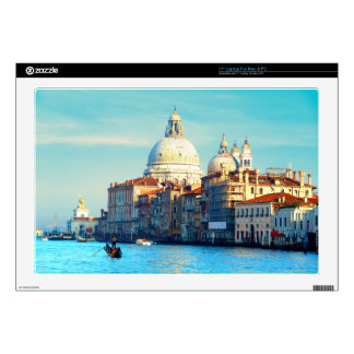 "Santa Maria della Salute Basilica 17"" Laptop Skins"