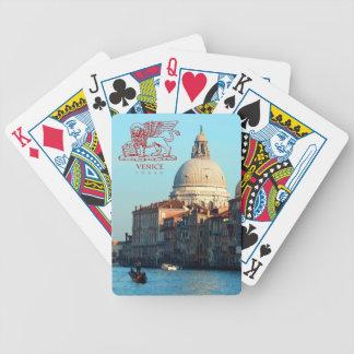 Santa Maria della Salute Basilica Bicycle Playing Cards