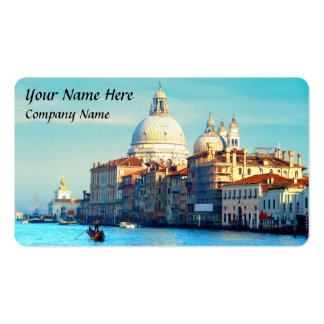 Santa Maria della Salute Basilica Double-Sided Standard Business Cards (Pack Of 100)
